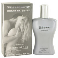 Jeanne Arthes Rocky Man Silver EDT 3.3 OZ