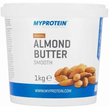 MyProtein Almond Butter, Natural, (No added Salt, Sugar or Palm Oil) Tub, 1kg