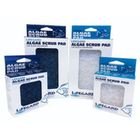 Lifegard Aquatics Aquarium Algae Cleaning Pads, Glass Aquarium, Blue, 4 x 6-Inch