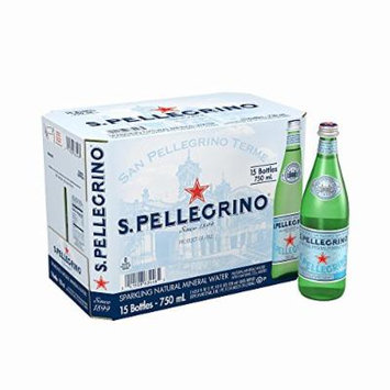 San Pellegrino Sparkling Mineral Water, 15 pk./25.3 oz.
