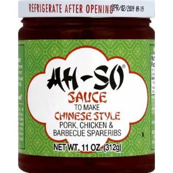 Ah-So Chinese Style Barbecue Sauce, 11 Ounce (Pack of 12) by Ah So