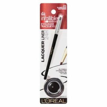 L'oréal® Paris Infallible 24hr Lacquer Intense High-shine Finish Gel Eyeliner (L'Oréal® Paris Infallible 24HR Lacquer Intense Gel Eyeliner - Blackest Black 171)