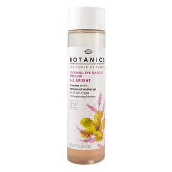 Boots Botanics All Bright Soothing Eye Make-up Remover 5 fl oz (150 ml) (Pack of 3)