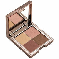 Gallany Cosmetics Eye Shadow Quad Palette, Pink and Brown Eyeshadow, Natural Smokey Eye, Shimmering Pigments (Cashmere)
