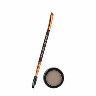 Billion Dollar Brows 2-Piece Eyebrow Powder Essentials Kit with Brow Brush and Powder - Taupe, All Day Eyebrow Color, Easy Removal, Cruelty Free