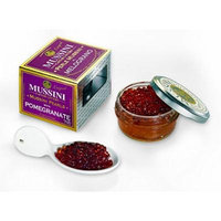 Italian Mussini Pomegranate Flavored Balsamic Pearls, 1.76 Ounces (50 gm), Pack of 6