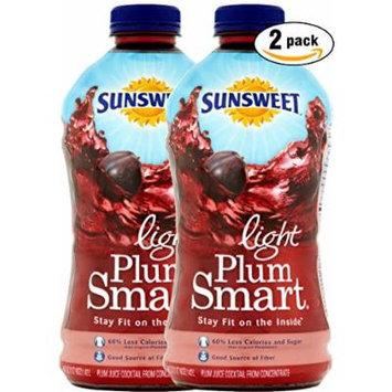 Sunsweet Plum Smart Light For Digestive Health Juice, 48 OZ Bottle (Pack of 2, Total of 96 Oz)