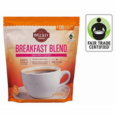 Wellsley Farms Breakfast Blend Ground Coffee, 40 oz.