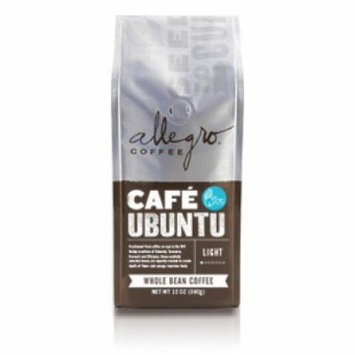 Allegro Whole Bean Coffee, 2-12oz Bags (Cafe Ubuntu)