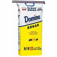 Domino Premium Pure Cane Granulated Sugar, 25 lbs. (pack of 2)