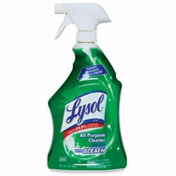 Lysol 32 OZ All Purpose Cleaner With Bleach Cleans & Disinfects Kitche 2PK