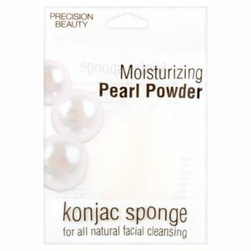 Precision Beauty Moisturizing Pearl Powder Konjac Sponge