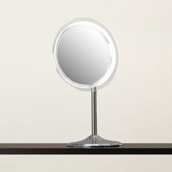 Symple Stuff Makeup Mirror with Pedestal