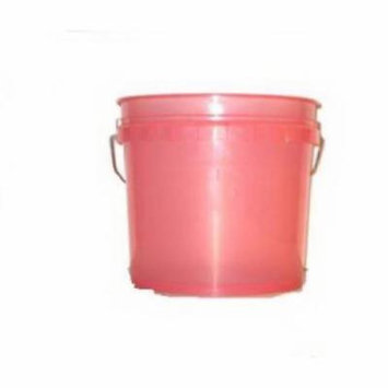 3-1/2 Gallon Watermelon Heavy Duty Plastic Pail Only One