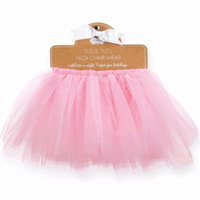 Mud Pie Birthday Princess Collection Pink Tulle High Chair Skirting Wrap