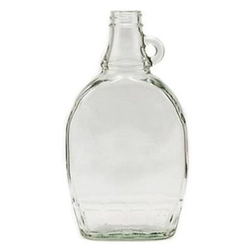 12 OZ Empty Maple Syrup Bottle With Lid Use To Store Finished Syrup 4PK