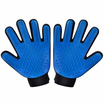 VicTsing Two-sided Pet Grooming Gloves Brushes, Deshedding Tool, for Removing Pet Shedding Hair, Pet Massage and Bathing Brush or Comb, for Dogs, Cats, Horses (One Pair: for Left and Right Hands)