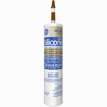 Silicone II 10.1 OZ Brown Window and Door Caulk 100% Silicone Only One