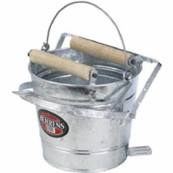 12 QT Combination Round Mop Bucket With Pull Through Wringer