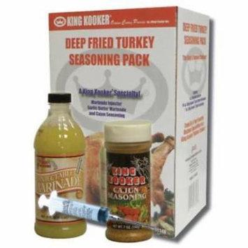 King Kooker Deep Fried Turkey Seasoning Pack Only One