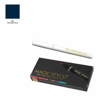 Magic Styl'o Semi Permanent Makeup Pen in Midnight Blue with Remover Pen