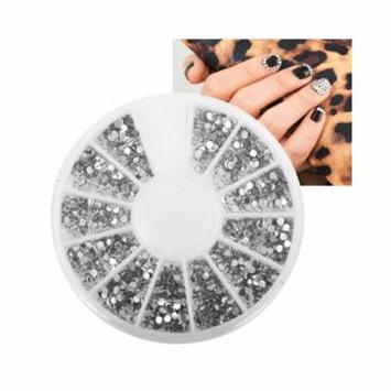Zodaca Nail Art Tips 1.5mm 3D Crystal Giltter Bling Rhinestones Decoration Manicure Beauty 1200pcs
