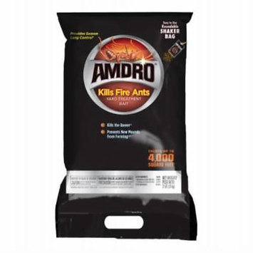 2 LB Amdro Fire Strike Fire Ant Bait Shaker Bag Easy 3 Way To Use Gr Only One