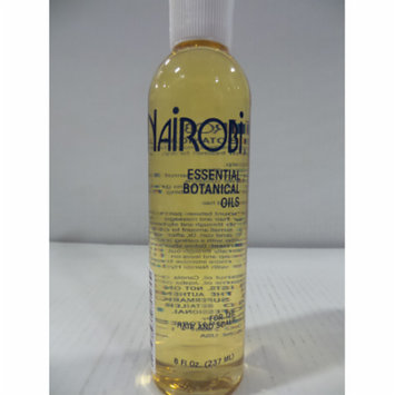 Nairobi Essential Botanical Oil for Unisex, 8 Ounce 2 pack