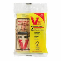 (24 Pack) Victor Metal Pedal Mouse Trap 2 Pack