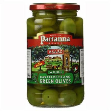 Asaro Whole Castelvetrano Green Olives 12 oz Glass Jars - Single Pack