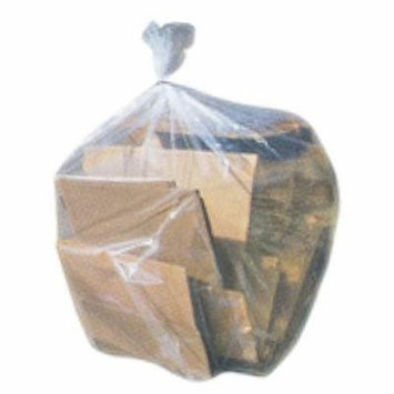 Toughbag 42 Gallon Contractor Trash Bags, 3.0 Mil - 50/Case Garbage Bags (Clear)