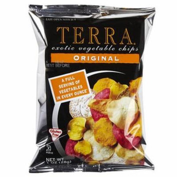 Terra Exotic Vegetable Chips Original 6.8 oz Bags - Pack of 12