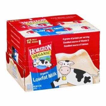 Horizon Organic 1% Low Fat Milk 8 Oz Cartons - Pack of 12