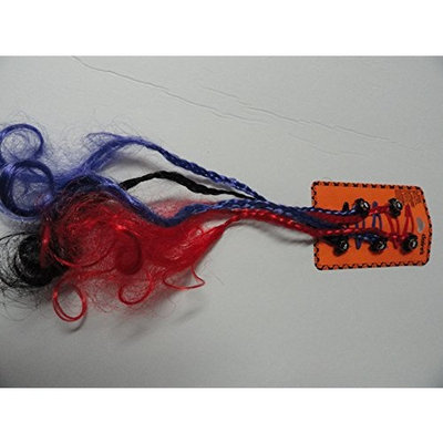 Five Spider Barrettes with Long Braided Tails