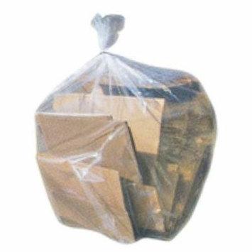 Toughbag Clear Trash Bags, 65 Gallon Garbage Bags (100)