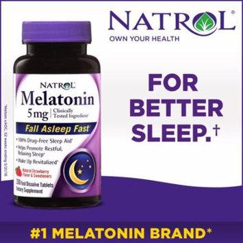 Natrol Melatonin 5 mg. 250 Fast Dissolve Tablets