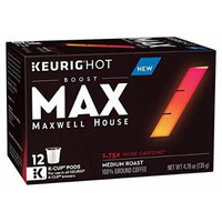 Maxwell House Max Boost Coffee K-Cups 3 Boxes of 12(36 Total) (3 Box Sampler)