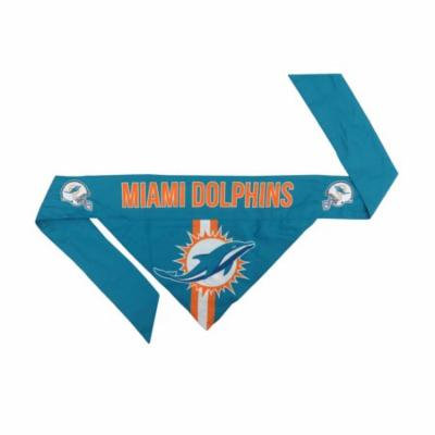 Miami Dolphins Dog Bandanna Size S