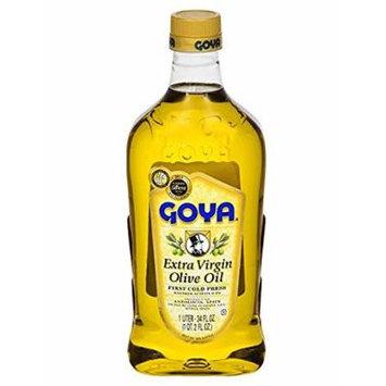 Goya Extra Virgin Olive Oil 34 FL.OZ. (2 Pack of 34 oz.)