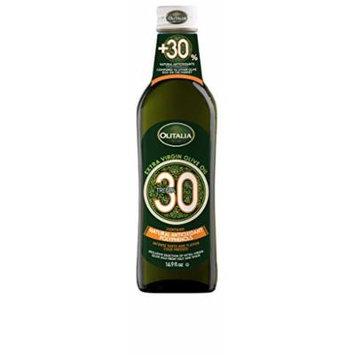 Olitalia Extra Virgin Olive Oil +30, Cold Pressed (500 ML, 16.9 oz, Pack 1)