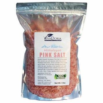 Viva Doria Himalayan Pink Salt - Coarse Grain, 5 lb