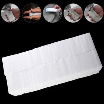 100pcs White Multi-functional Magic Sponge Eraser Cleaner 100 x 60 x 20mm