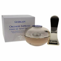 Guerlain Orchidee Imperiale Cream Foundation Brightening Perfection SPF25, No. 02 Beige Clair, 1 Ounce