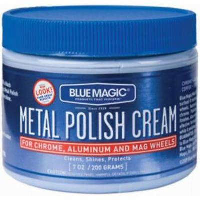 7 OZ Metal Polish Cream Non Abrasive For Home Auto and Marine Only One