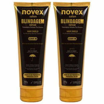 Novex Salon Blindagem Capilar Treatment Hair Shield Leave-in 7oz / 200g