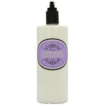 naturally european lavender luxury body lotion, 500 ml / 17 oz