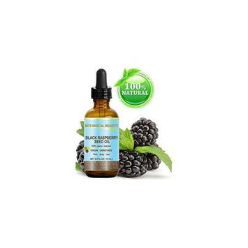 """BLACK RASPBERRY SEED OIL. 100% Pure / Natural / Undiluted / Virgin / Unrefined / Cold Pressed Carrier oil. 0.5 Fl.oz.- 15 ml. For Skin, Hair, Lip and Nail Care. """"One of the highest antioxidants, rich"""