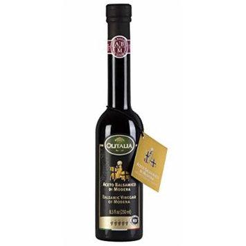 Olitalia Balsamic Vinegar of Modena P.G.I. 250 ML. 8.5 oz. (5 Grapes, Pack 1)