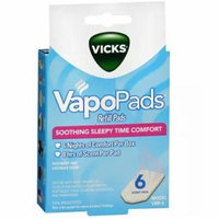 Vicks VapoPads Refill Pads 6.0 ea(pack of 6)