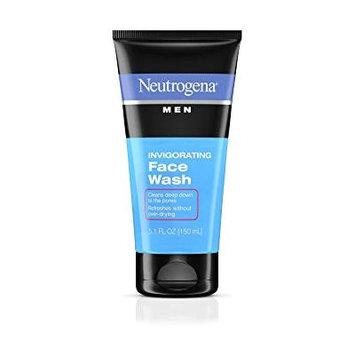 Neutrogena Men Invigorating Face Wash 5.1 fl oz(pack of 12)